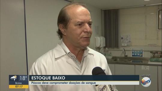 Páscoa deve comprometer ainda mais o estoque de sangue no hemonúcleo em Araraquara