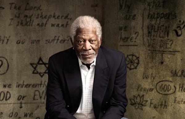 Morgan Freeman em 'The Story of God' (Foto: Divulgação)