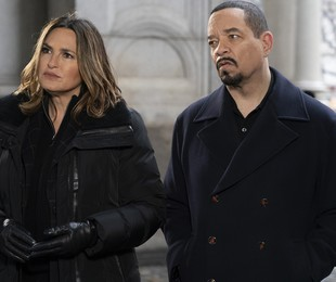 Mariska Hargitay e Ice-T em 'Law & order: SVU' | Virginia Sherwood/NBC