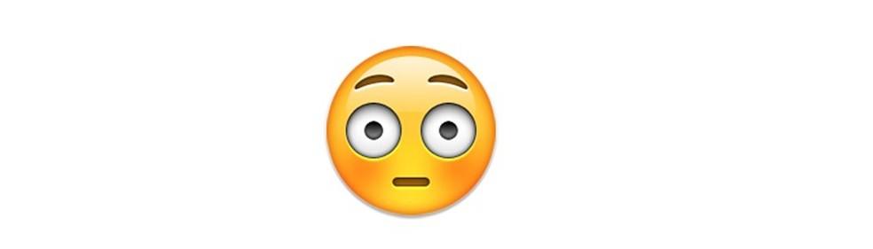 Expressão de um rosto envergonhado — Foto: Reprodução/TechTudo
