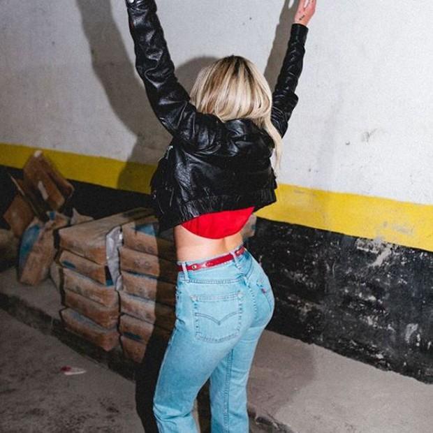 Halsey chegando no Rio de Janeiro (Foto: Reprodução/Instagram)