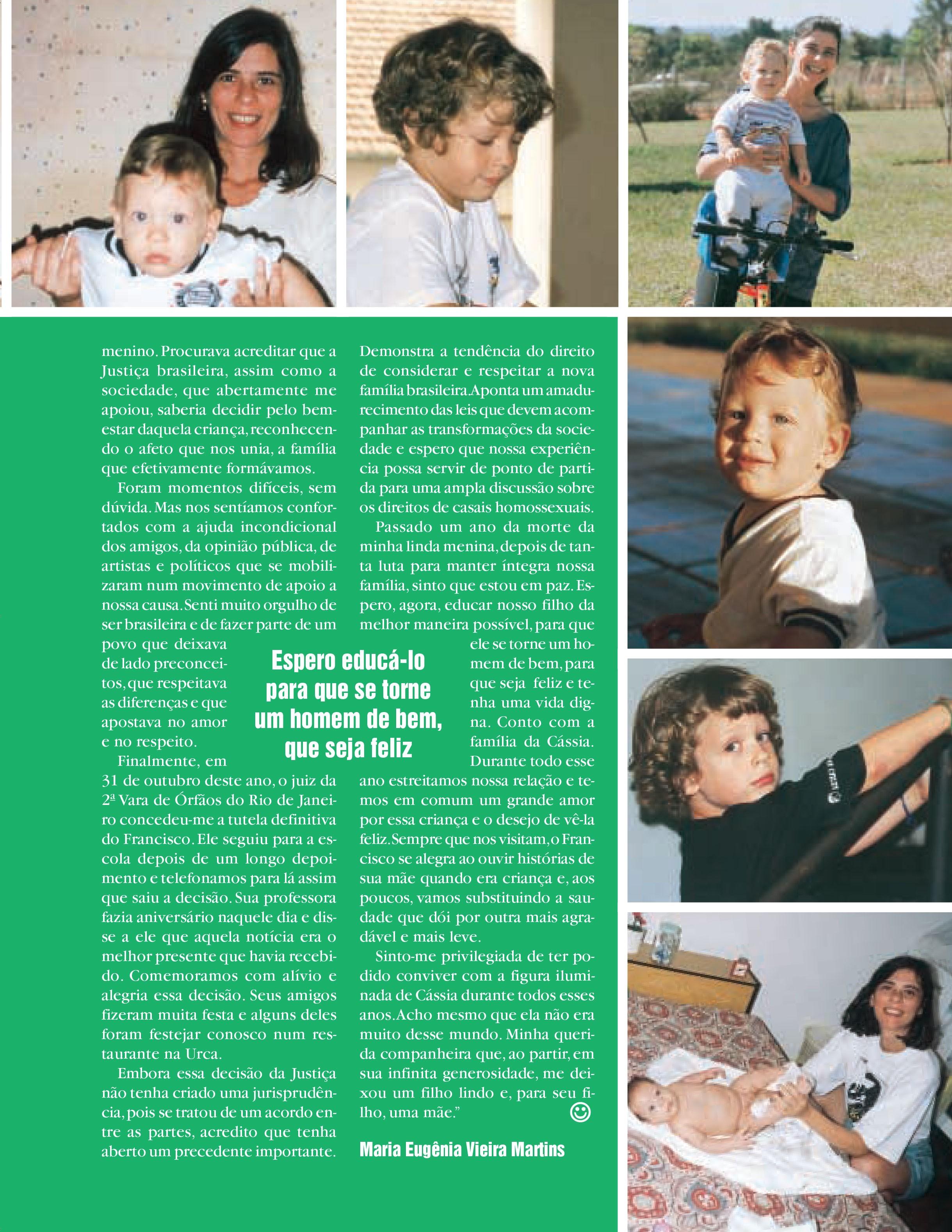Minha luta por Chicão (Foto: Crescer)