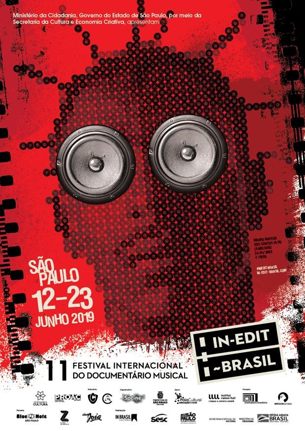 Sabotage em cartaz do Festival In-Edit 2019 (Foto: Divulgação)