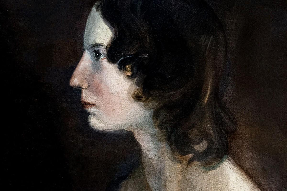 A escritora britânica Emily Brontë (Foto: Divulgação)