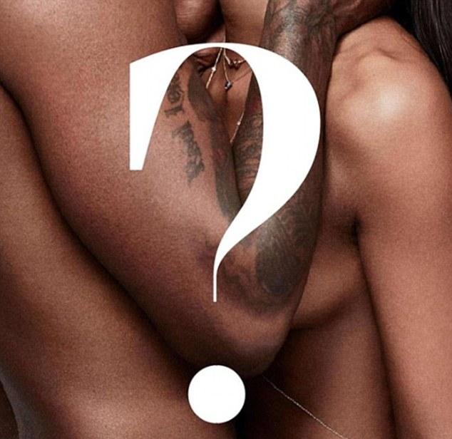 A foto misteriosa de Naomi Campbell com seu namorado, o rapper Skepta (Foto: Instagram)