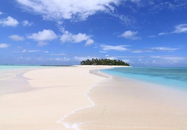 Fiji , na Oceania: águas transparentes em destino preferido por VIPs (Foto: Facebook/nanuku.island.fiji)