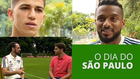 Para Juanfran, São Paulo e Flamengo brigariam por vaga na Liga dos Campeões; veja vídeo