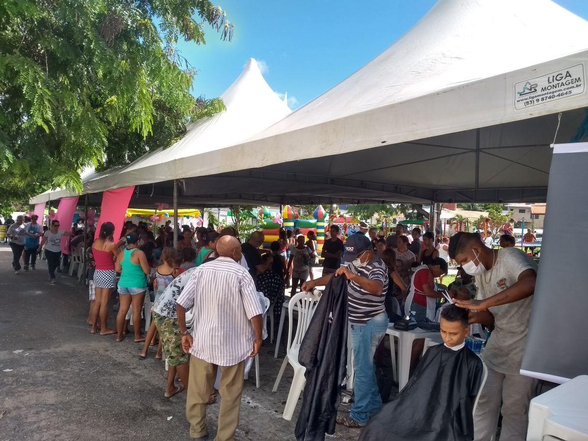 Circuito Comunidade leva serviços e lazer para o bairro de mandacaru, em João Pessoa