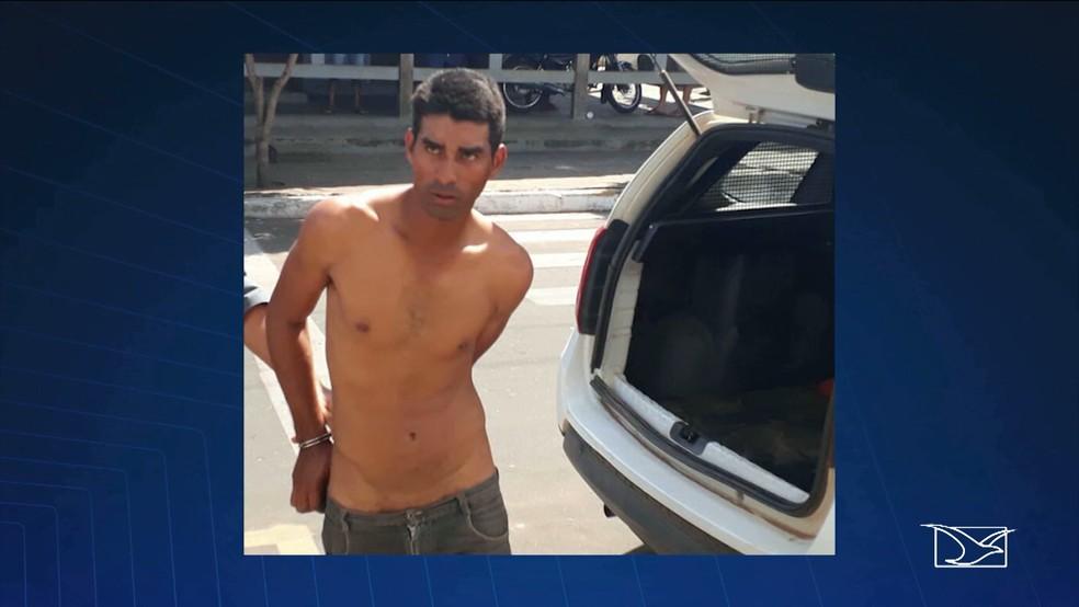 Welison Cavalcante tem 29 anos e foi preso em flagrante pela Polícia Militar (Foto: Reprodução/TV Mirante)