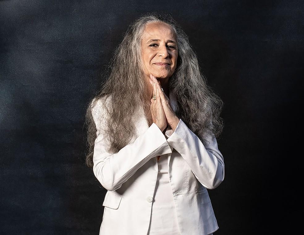 Maria Bethânia canta bolero de Tim Bernardes, 'Prudência', no álbum 'Noturno' — Foto: Jorge Bispo / Divulgação