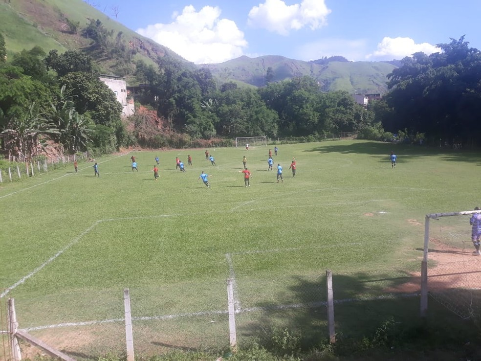 Campo do bairro Novo Tempo — Foto: Futebol Clube Independente