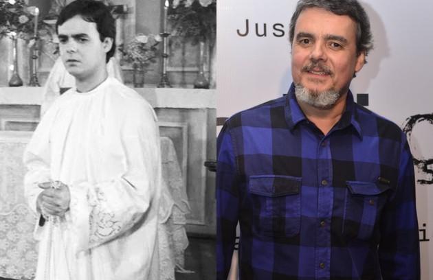 Cássio Gabus Mendes era Ricardo, filho de Perpétua (Joana Fomm). Em 'Justiça' (2016), ele interpretou Heitor (Foto: TV Globo)
