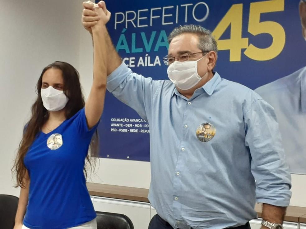 Álvaro Dias (PSDB) foi eleito prefeito de Natal — Foto: Juliane Bezerra/Inter TV Cabugi