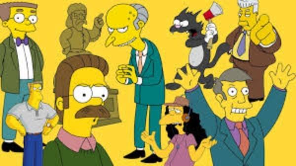 Harry Shearer já interpretou dezenas de personagens no desenho animado (Foto: Reprodução)