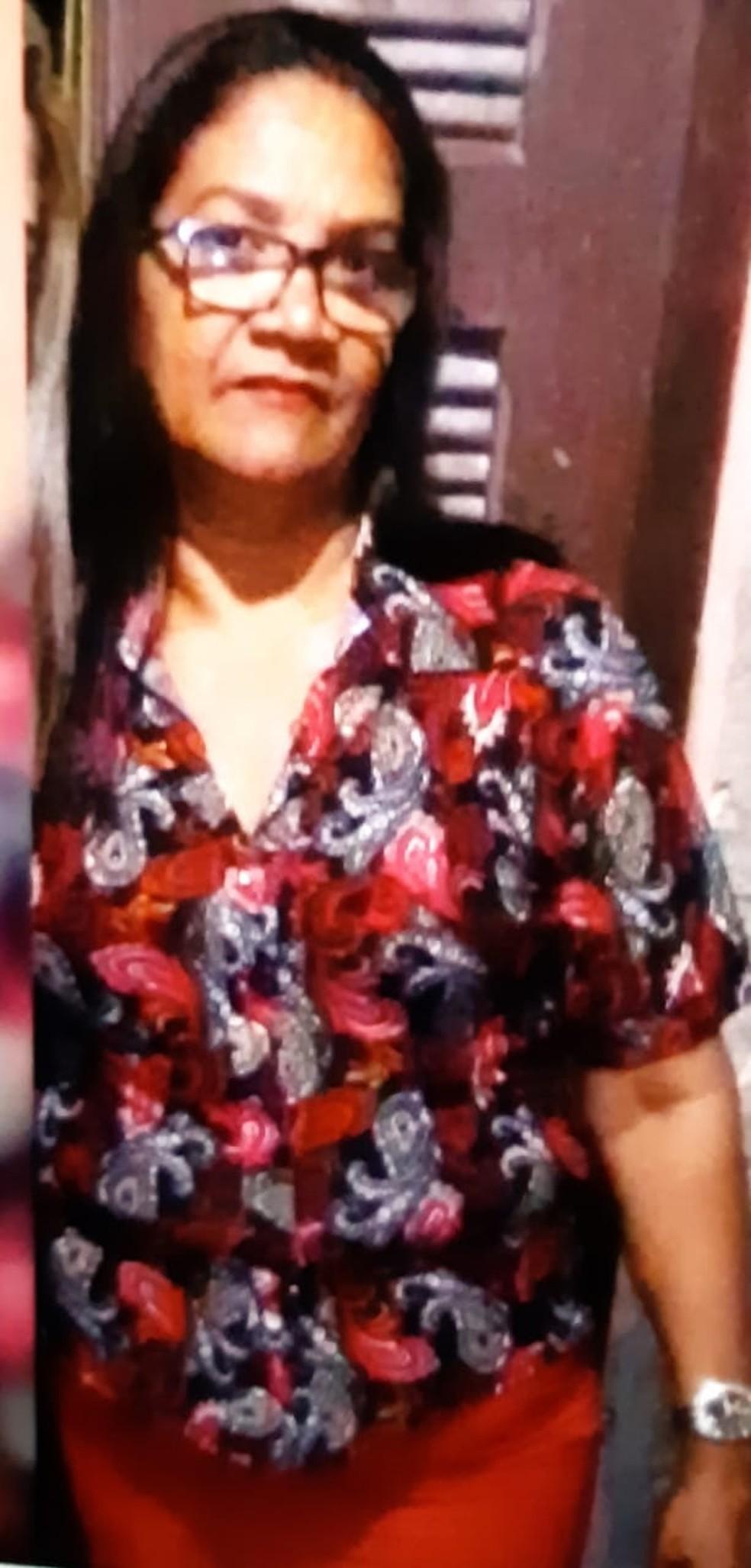 Ana Lúcia residia em Fortaleza e foi a Horizonte visitar parentes. — Foto: VC Repórter/SVM