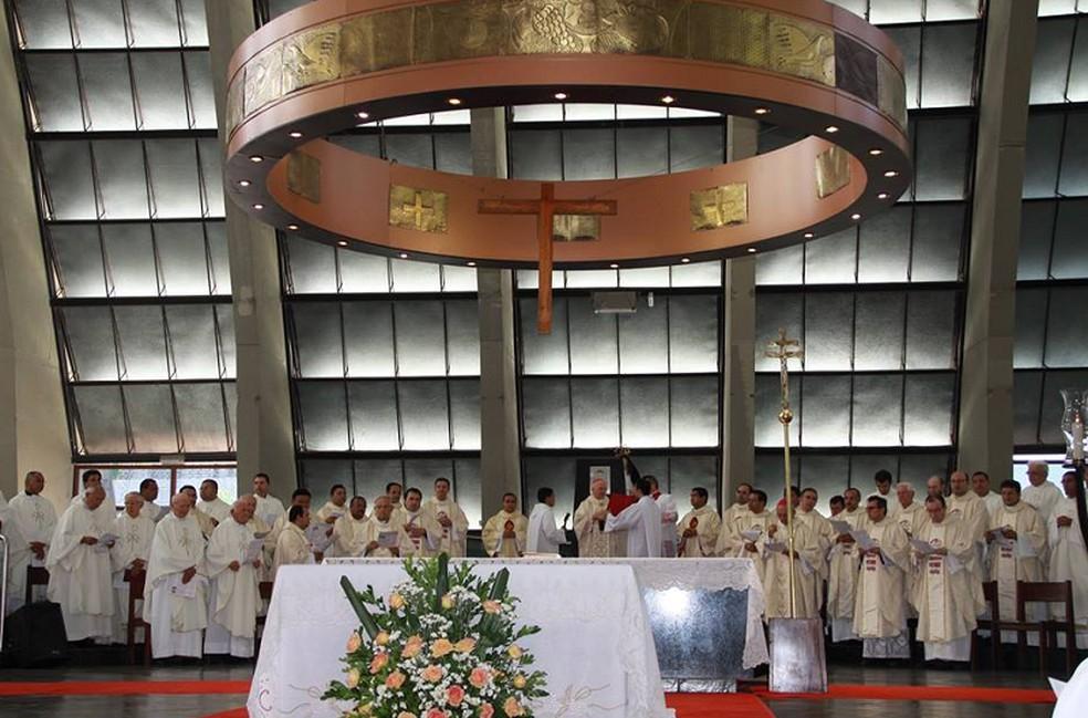 Catedral terá duas missas — Foto: Divulgação/Arquidiocese