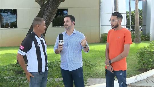 GE: técnicos falam sobre amistoso do sub-20 do Botafogo-PB contra o sub-21 da Copa de Bairros