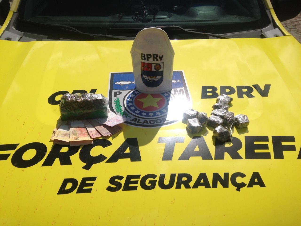 Jovem é presa com 1,2 kg de maconha no Poço, em Maceió - Notícias - Plantão Diário