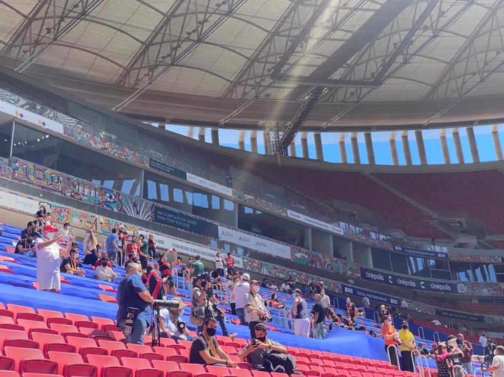 Final da Supercopa em Brasília tem presença de convidados de clubes e CBF