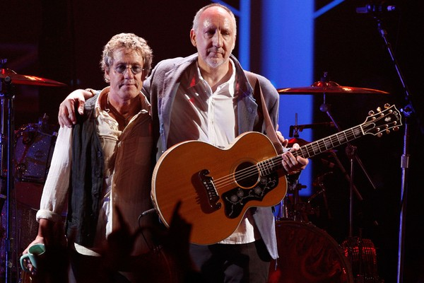 Roger Daltrey e Pete Townshend em um show do The Who (Foto: Getty Images)
