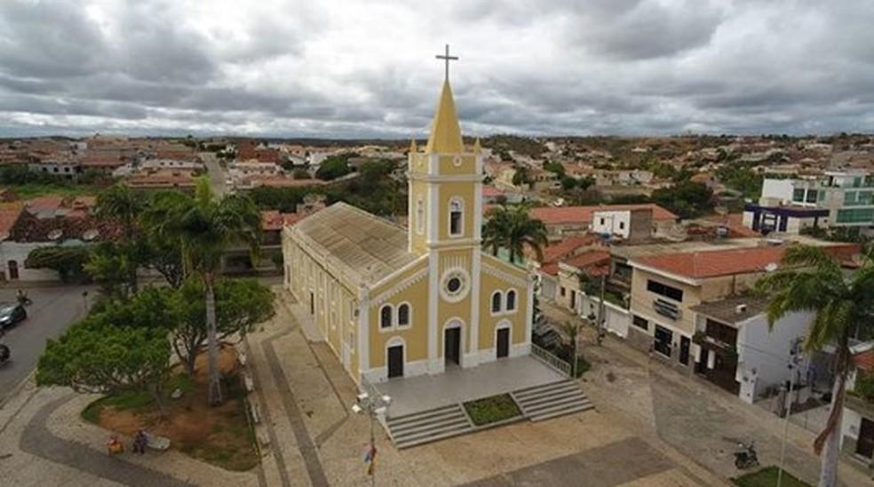 Cidade de Salgueiro no Sertão de Pernambuco — Foto: Reprodução/ Redes Sociais