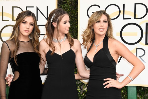 Sistine Stallone, Scarlet Stallone, Sophia Stallone (Foto: Getty Images)
