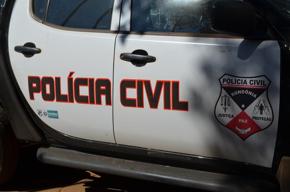 Delegacia de Polícia Civil em Vilhena (Foto: Christian Wentz/G1)