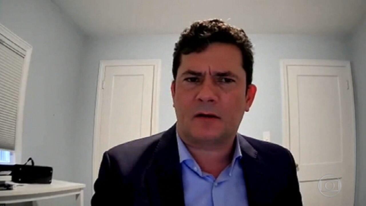 Ex-juiz Sergio Moro diz que não tem arrependimentos pelo trabalho no âmbito da Operação Lava Jato