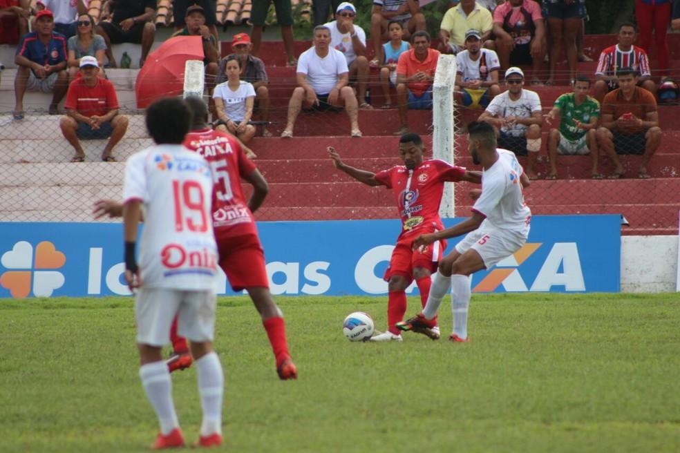 Piauí conseguiu a classificação para as semifinais ainda na nona rodada do estadual (Foto: Renan Morais/GloboEsporte.com)