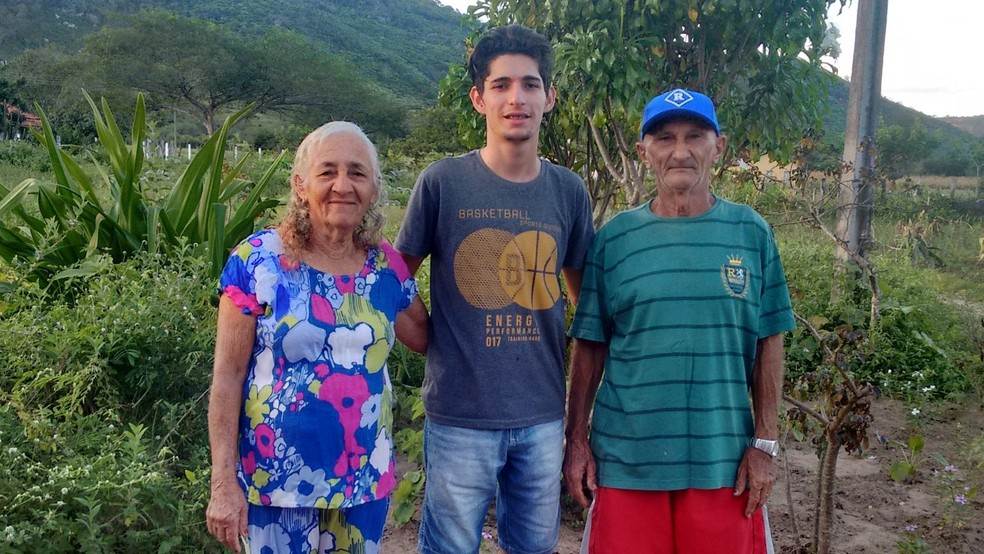 Paraibano foi criado desde os 14 anos pelos avós (Foto: Henrique Lima/Arquivo pessoal)