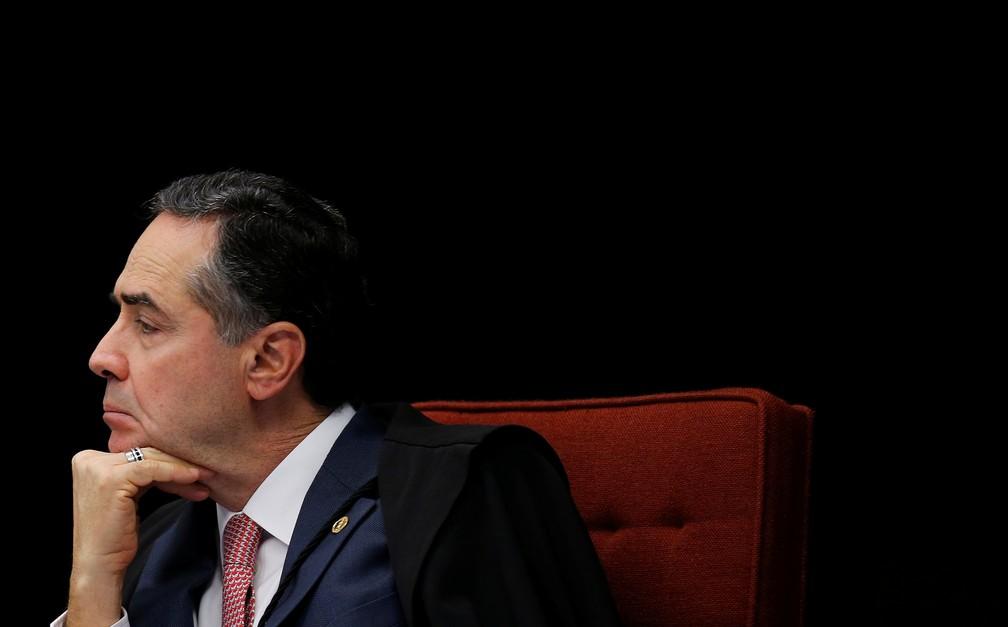 Luís Roberto Barroso — Foto: Reuters