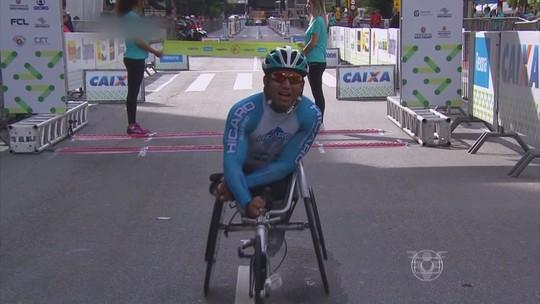 Heitor Mariano é bicampeão da São Silvestre na categoria cadeirante