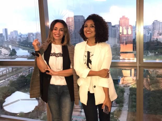 Suzana Pires e Viviane Duarte (Foto: Arquivo pessoal)