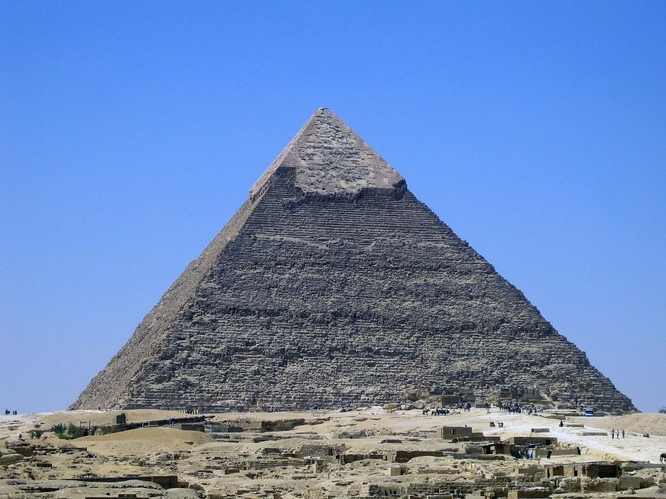 Grande Pirâmide de Gizé, no Egito (Foto: Pixabay/ PublicDomainPictures/ Creative Commons)