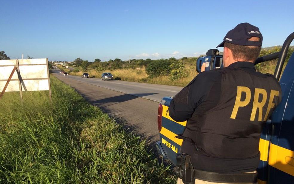 Decisão de suspender uso de radares já está em vigor em Roraima — Foto: Polícia Rodoviária Federal/Divulgação