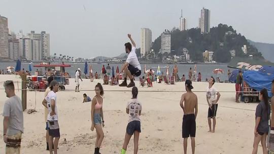 Festival Free Session leva esporte à Praça Tom Jobim, em São Vicente