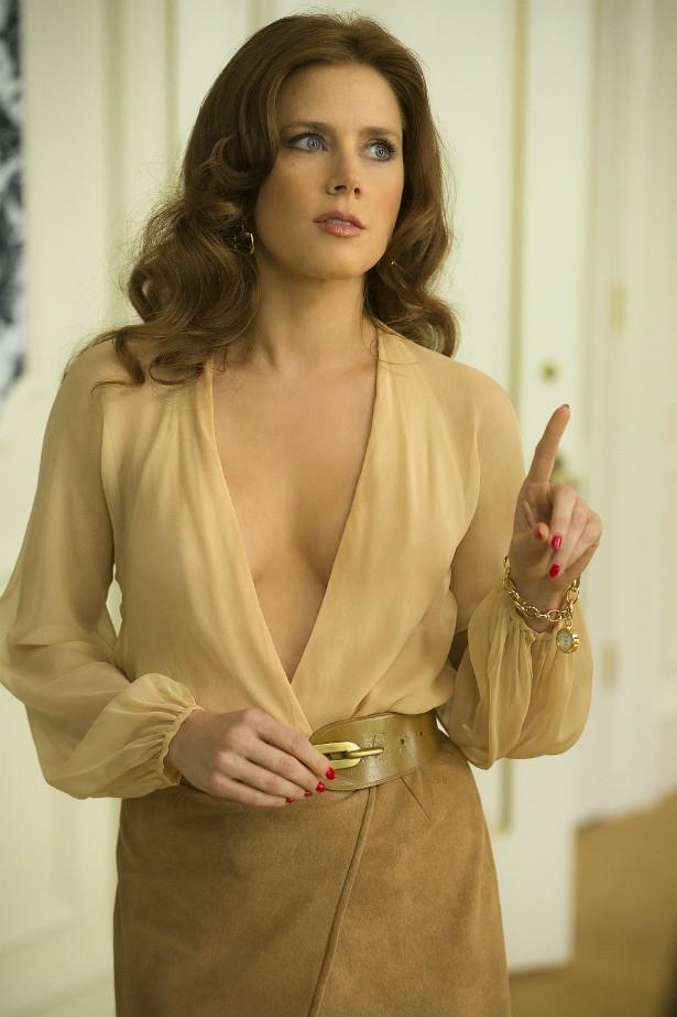 Amy Adams em cena de 'Trapaça'. (Foto: Divulgação)