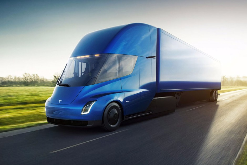 Tesla apresenta Semi, seu primeiro caminhão elétrico (Foto: Divulgação)