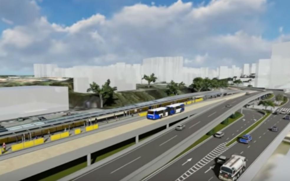 Resultado de imagem para BRT de Salvador obras