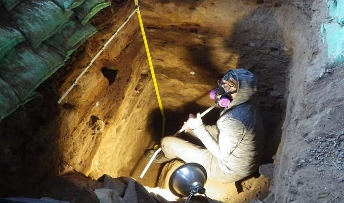 Cocô comprova presença de humanos na América do Norte há 12 mil anos (Foto: John Blong, Newcastle University)