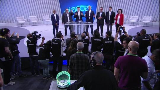 Candidatos ao governo do RJ participaram do último debate na TV