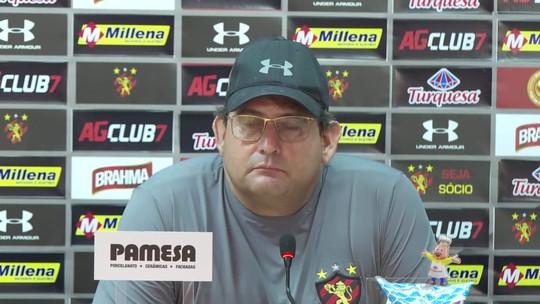 Guto Ferreira minimiza propostas por Hernane Brocador antes de final no Sport