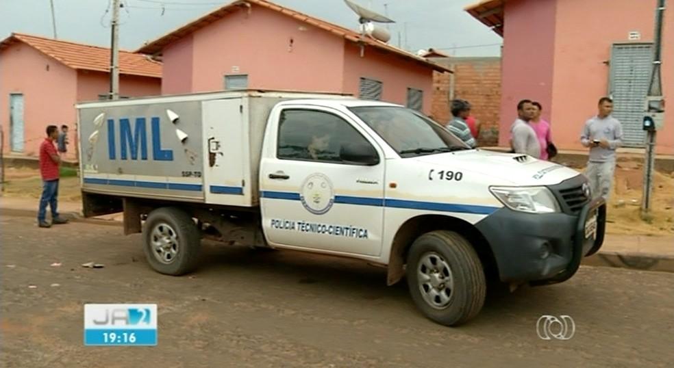 Adolescente foi assassinado em Araguaína (Foto: Reprodução/TV Anhanguera)