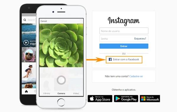 Como Criar Senha Nova No Instagram Vinculado Ao Facebook Redes