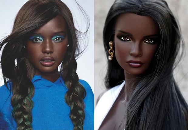 Duckie Thot é chamada de Barbie negra (Foto: Reprodução/Instagram)