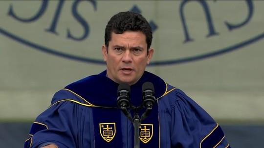 Moro recebe título de Doutor Honoris Causa da Universidade de Notre Dame