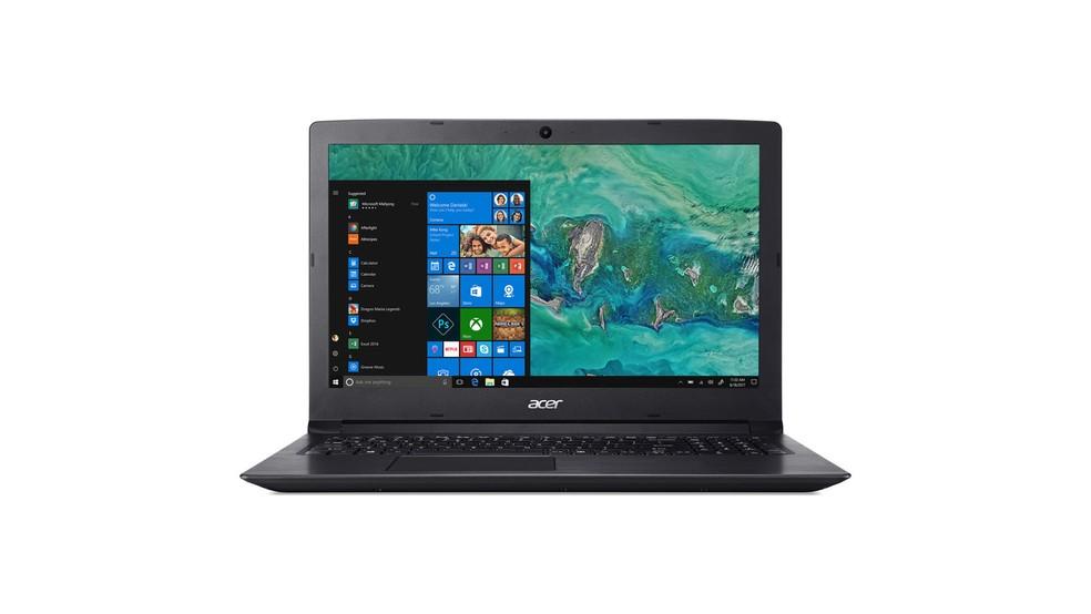 Com especificações simples, Aspire 3 é um notebook para quem precisa de algo em conta — Foto: Divulgação/Acer