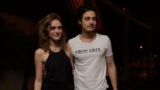 Tiago Iorc revela intimidade sobre novo visual de Isabelle Drummond