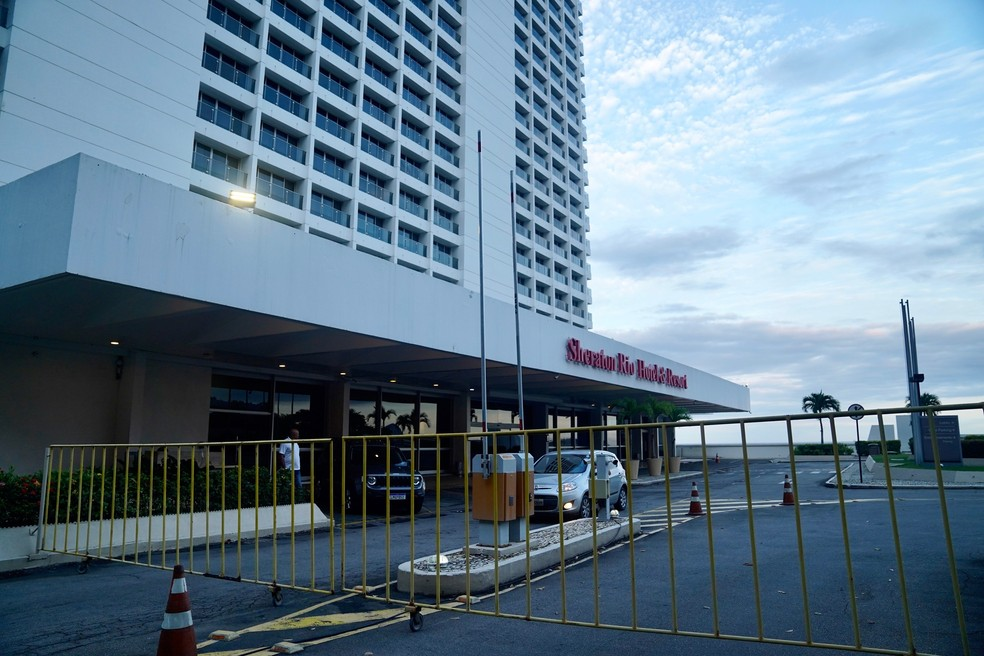 Sheraton Rio Hotel & Resort — Foto: Marcos Serra Lima/G1 Rio