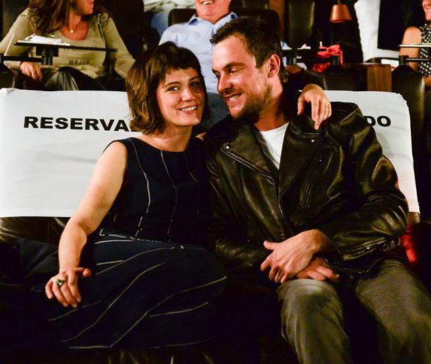 Bianca Bin e Sérgio Guizé (Foto: Francisco Cepeda/AgNews)